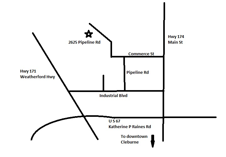 map to Transfer Station