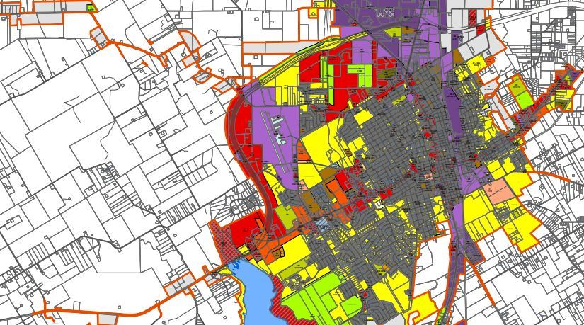 Zoning Map of Cleburne