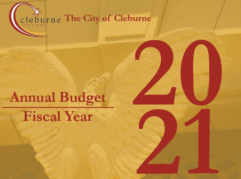 Fiscal Year 2021 Budget Cover