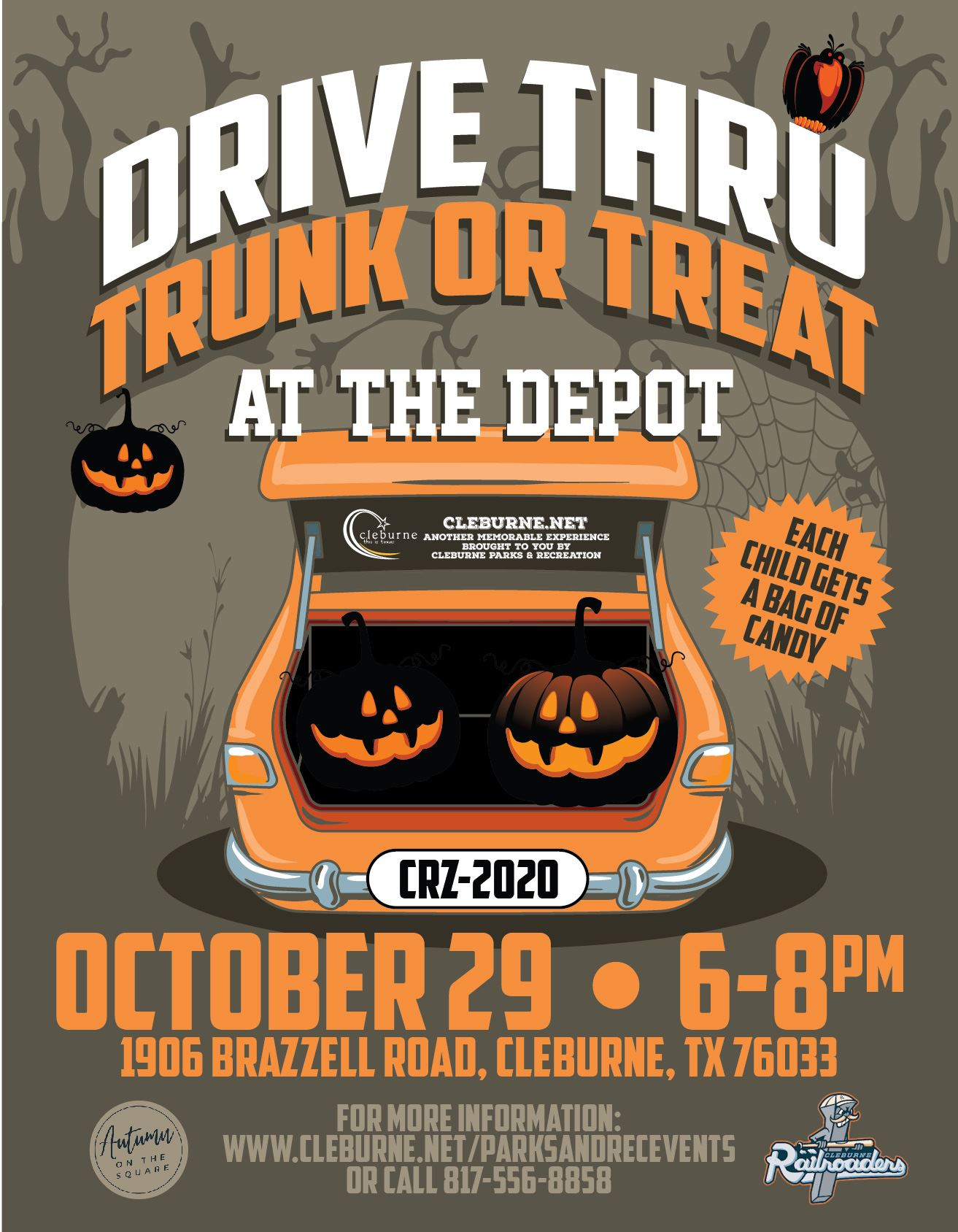 20-Trunk-Treat-Event Flyer