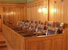 Juror Courtroom seating