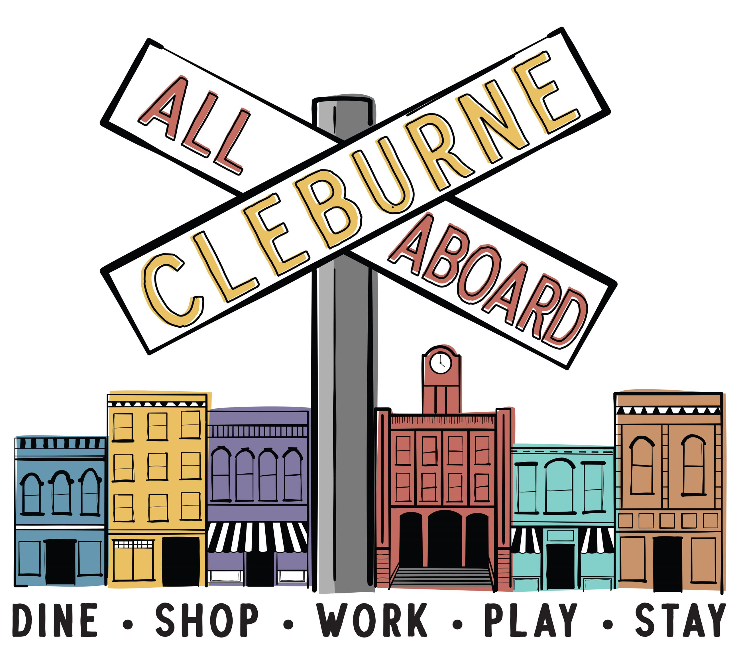 All Aboard Cleburne Logo